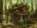 16 Shaman's Hut by Marek Vosswinkel